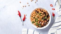 Pois chiches : propriétés nutritionnelles et contre-indications