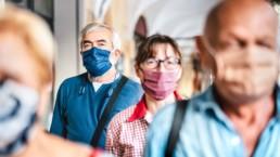Le variant delta du COVID19 peut nécessiter l'utilisation intensive de masques