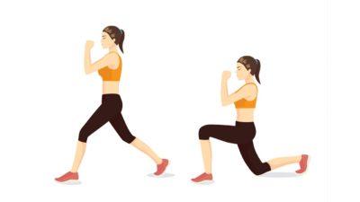 Les 6 meilleurs exercices fonctionnels : Fentes.