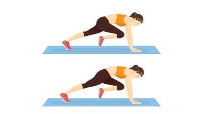 Cardio pour les débutants : 10 min par jour d'exercices faciles à réaliser à la maison. Grimpeur.